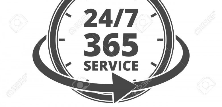 Commencing true 24/7/365 service